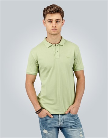 PLAIN PIQUE T-SHIRT SLIM FIT T-SHIRT