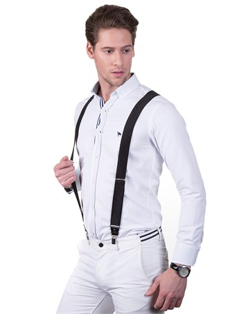 SUSPENDERS - BLACK