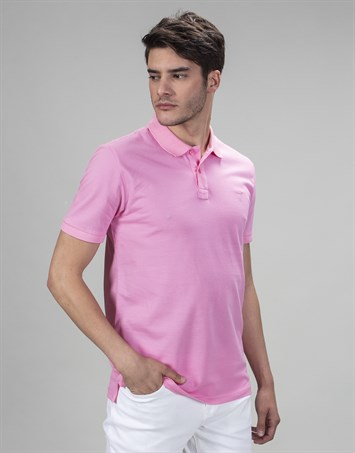 PLAIN PIQUE T-SHIRT  61/1 SLIM FIT T-SHIRT