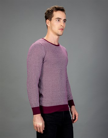SWEATER COTTON CORTES SWEATER